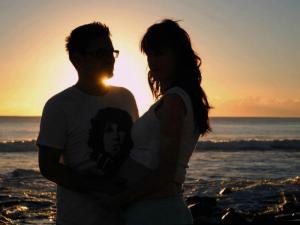 Simon & and his wife Heather
