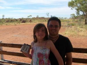 Simon & his eldest daughter India