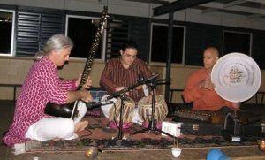 """Me playing the tabla with """"Krishnapada"""""""